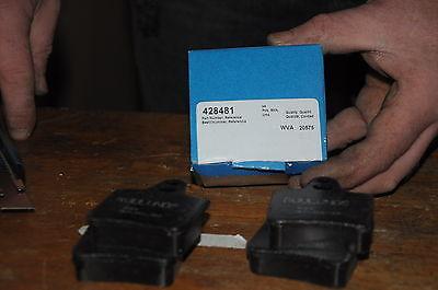 JEU DE 4 PLAQUETTES  DE FREIN ROULUNDS 425281 CITROEN CX
