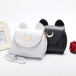 Anime-Sailor-Moon-Luna-Shoulder-Bag-PU-Small-Tote-Purse-Handbag-Cosplay-Casual