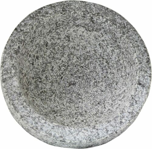 Vasconia 5031764 4Cup Granite Molcajete Mortar and Pestle