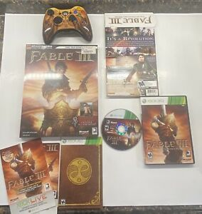 Xbox 360 Fable III 3 Limited Edition Controller, Game & New Sealed Guide