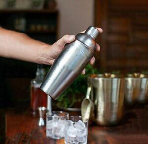 500ml-Stainless-Steel-Cocktail-Martini-Shaker-Bartender-Barware-Mixer-Maker-SL