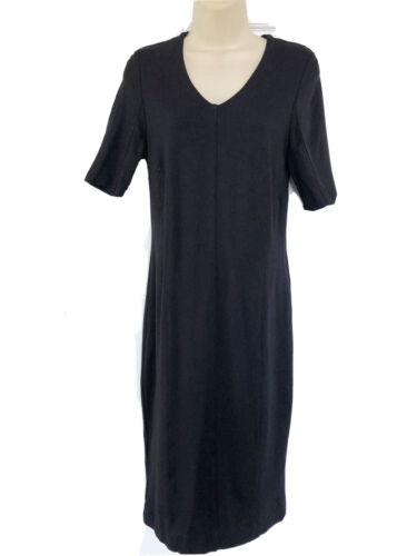 CAbi Claire Short Sleeve V Neck Sheath Dress Pont… - image 1