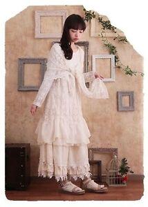 Cardigan veste dentelle Mori Girl retro vintage ancien baroque shabby chic Japon