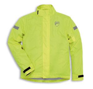 Details about Ducati revit Strada Rain Jacket Rain Suit Rain Jacket Jacket  Neon Yellow New
