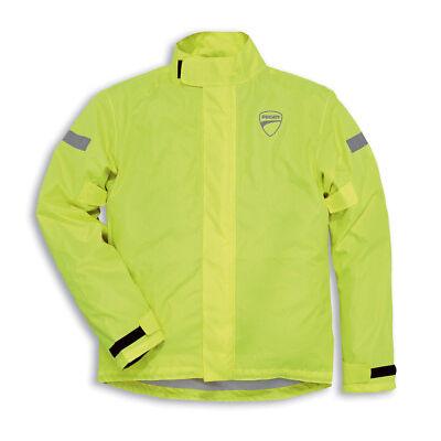 Ducati REVIT Strada Rain Jacket Rain Suit Rain Jacket Jacket Neon Yellow NEW
