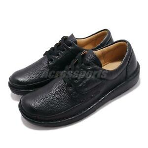 Clarks-Nature-II-Black-Leather-Men-Casual-Lace-Up-Lifestyle-Derby-Shoes