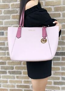Michael-Kors-Kimberly-Large-Bonded-Top-Zip-Tote-Blossom-Tulip-Pink