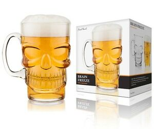 Image Is Loading Final Touch Gothic SKULL BEER Lager Pint Glass