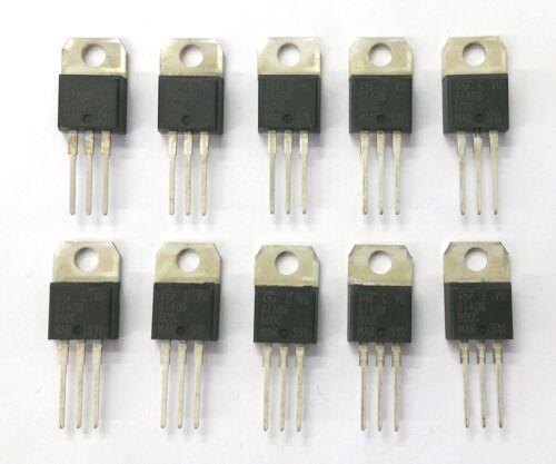 Lot of 10 NEW ST Microelectronics BTA08-600C 8 Amp 8A 600 Volt Triac TO-220AB