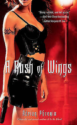 """1 of 1 - """"VERY GOOD"""" Phoenix, Adrian, A Rush of Wings: Book One of The Maker's Song, Book"""