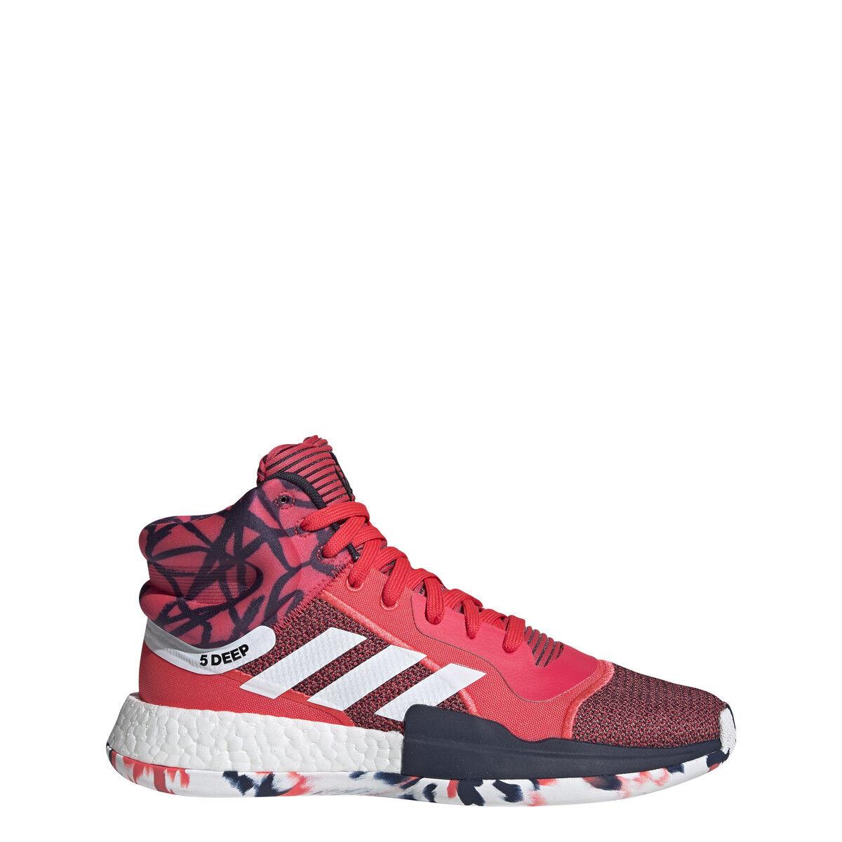 Adidas Mens MARQUEE BOOST rot Weiß Navy - G27737