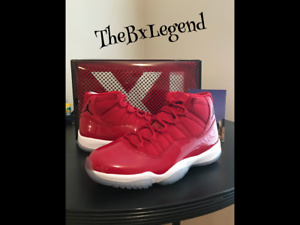 Air Jordan 11s WIN Like 96 brand new 100% Authectic size10   basketball