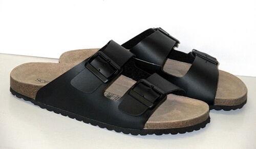 """/""""BIO softwaves /""""Homme Bio Mules avec semelle intérieure cuir + taille 41-45 ++ NEUF"""