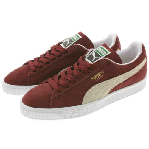 Puma Suede Classic Cabernet White Men/'s Shoes