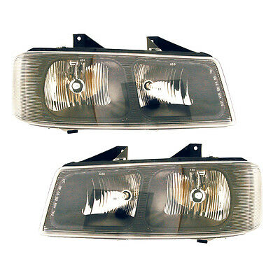03-10 Chevy Express/03-10 Savana Headlight Assembly Driver Passenger Side Pair