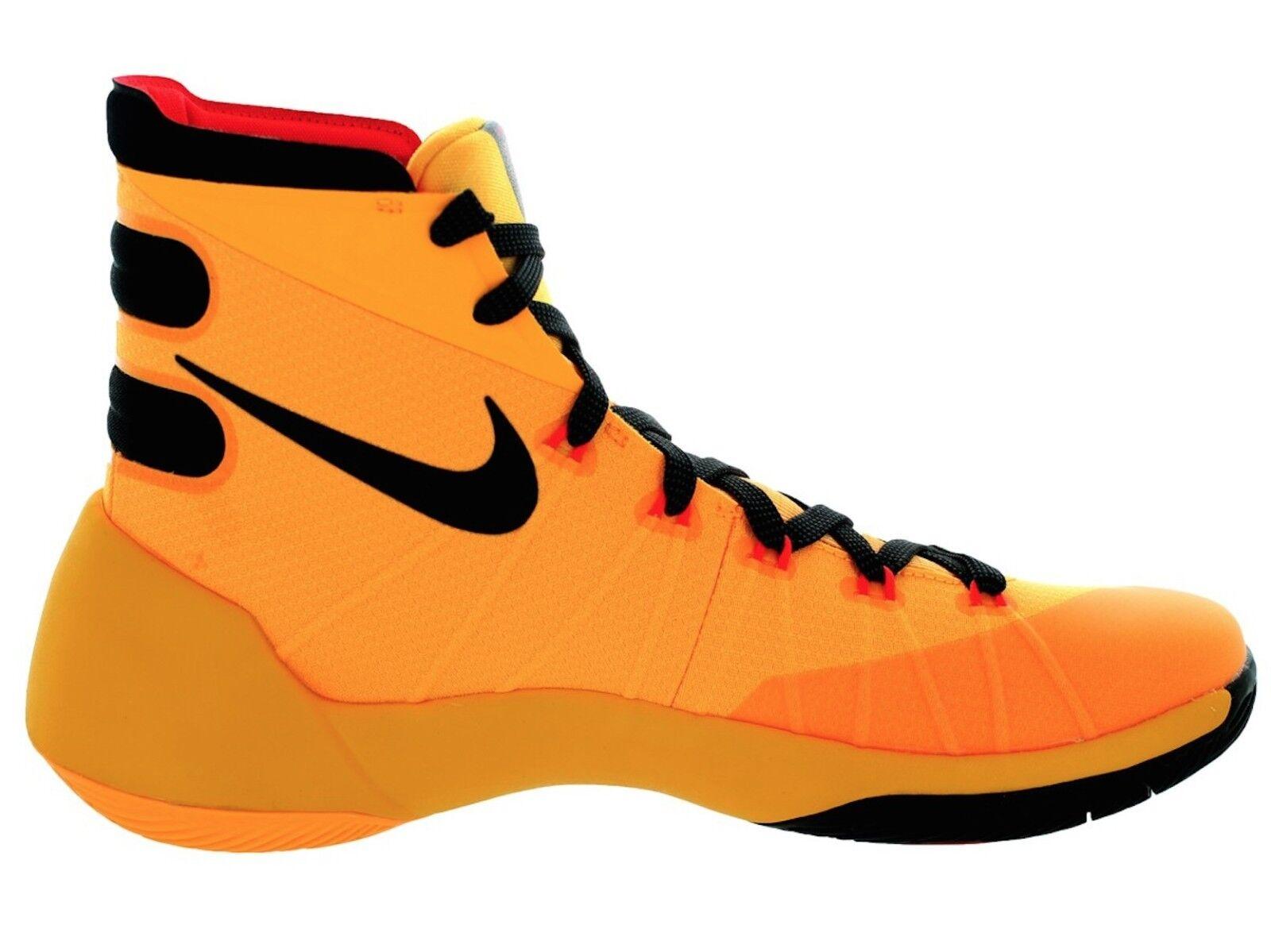 Nike Hyperdunk 2018 Basketball Shoe Laser Orange/Black/Bright Crmsn 749561 Sz 13