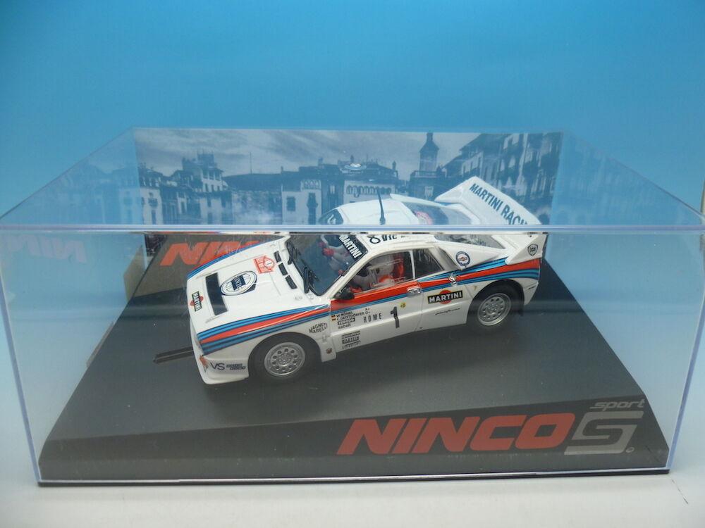 Ninco 50582 LANCIA 037 MARTINI boxed