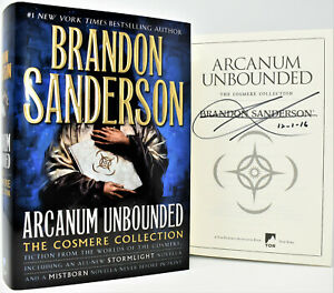 Arcanum-Unbounded-Cosmere-Collection-SIGNED-Brandon-Sanderson-NEW-COA