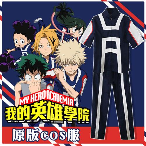 My Hero Academia Boku No Izuku Midoriya Cosplay Anime Mens Womens Sportswear