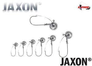 5 Pcs Jig Heads All Sizes Weights  ANTI-SNAG JAXON TANAMI Weedless Pike Perch UK