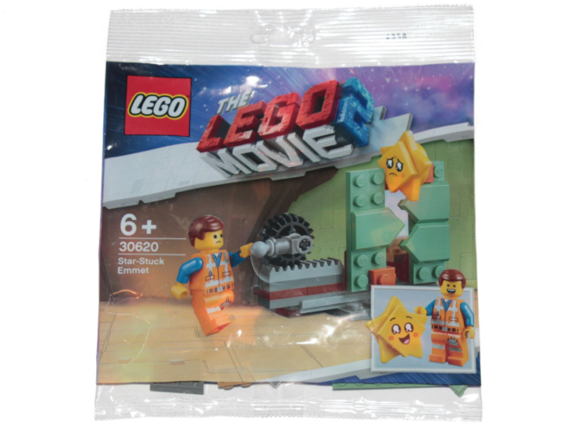 Lego Movie 2 Star Stuck Emmet Exclusive Set #30620 w// Minifigure New in Polybag