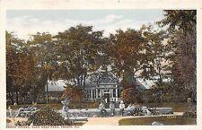 Illinois postcard Peoria Green Houses Glen Oaks Park