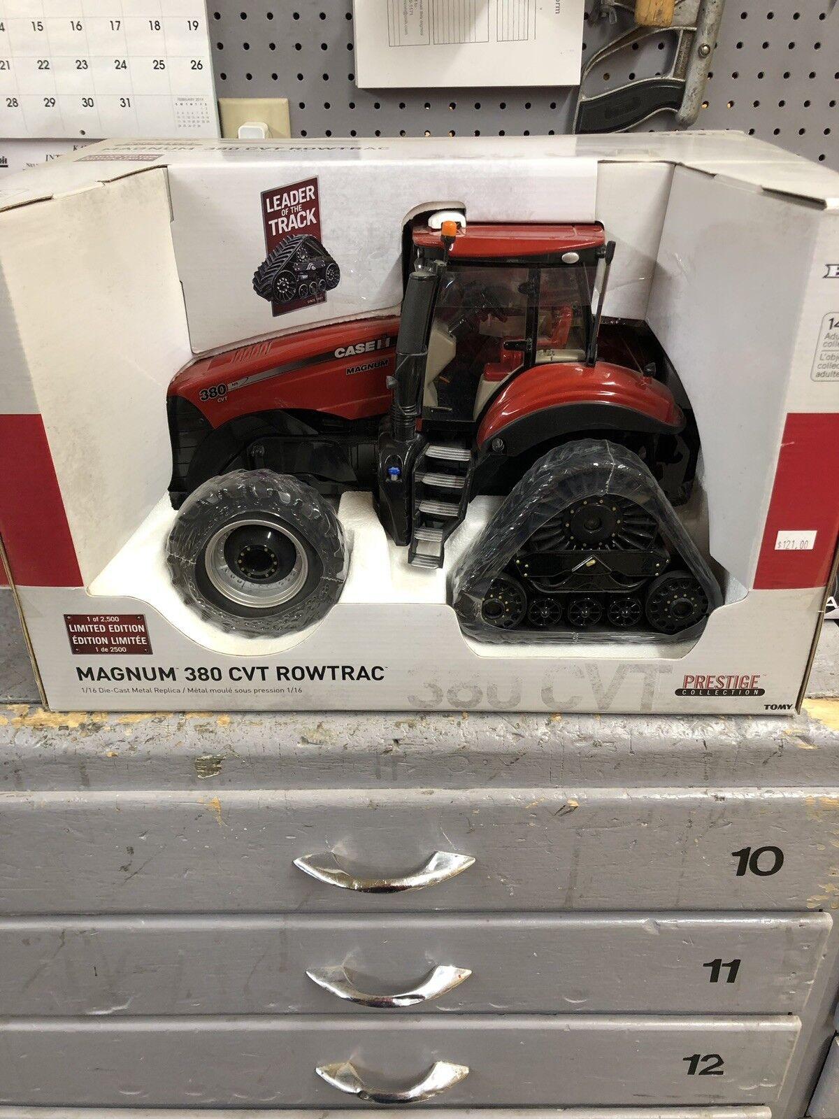 Juguete. Tractor. Case IH. Magnum 380 CVT rowtrac.