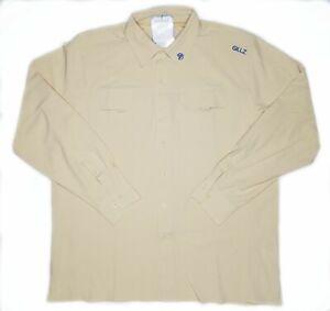 Gillz-Saltwater-Series-Brand-New-Mens-XL-Bleached-Sand-Long-Sleeve-Fishing-Shirt