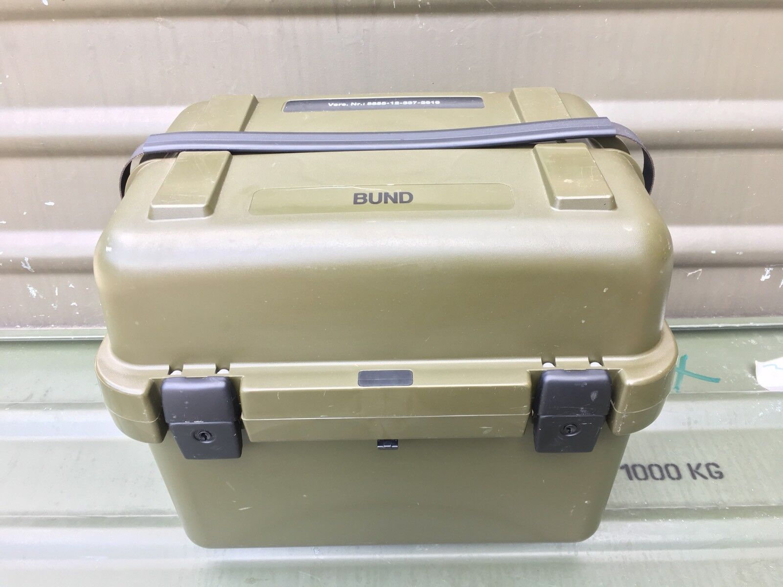 Transporte de contenedores Leica Big 35 dispositivo Visión Nocturna Nightvision