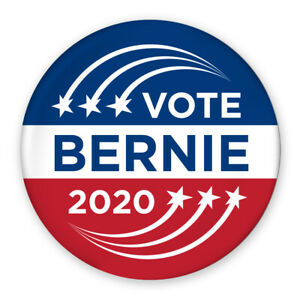 3-034-Political-Campaign-Pin-Vote-Bernie-Sanders-2020-Shooting-Star-Design