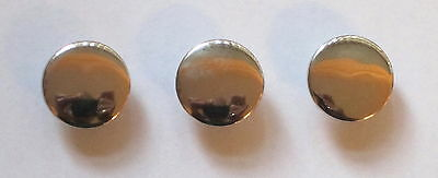15 x Shiney Shank Resin Button's 15mm Wide