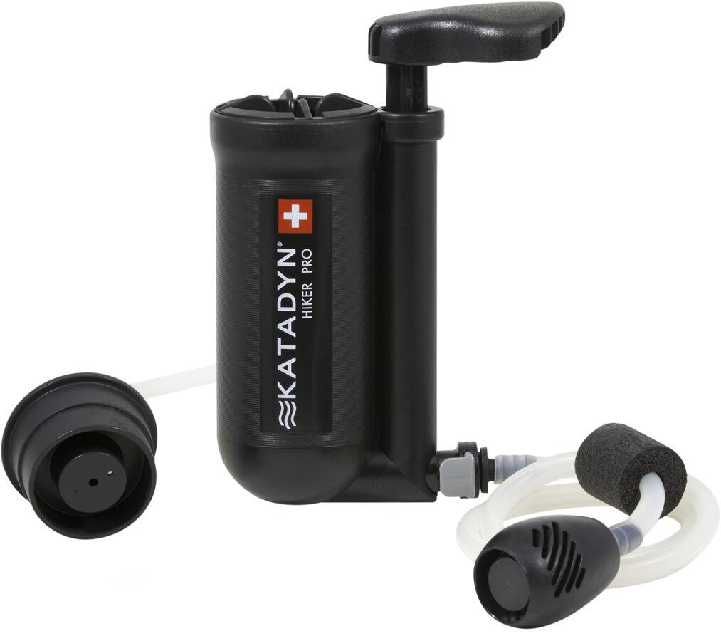 NEW Katadyn Hiker Pro Microfilter Water Purifier w Anti-Clog Pre-Filter 8018273