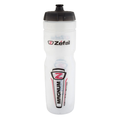 ZEFAL MAGNUM BIKE BICYCLE CLEAR WATER BOTTLE 33oz NEW