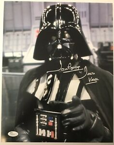 Star-Wars-DARTH-VADER-DAVID-PROWSE-Signed-Autograph-11-X-14-JSA-COA-DAVE