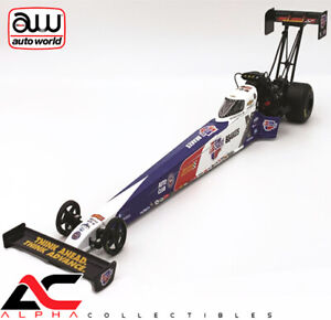 AUTOWORLDS 1//24 BRITTANY FORCE 2019 CARQUEST BRAKES TOP FUEL DRAGSTER NHRA