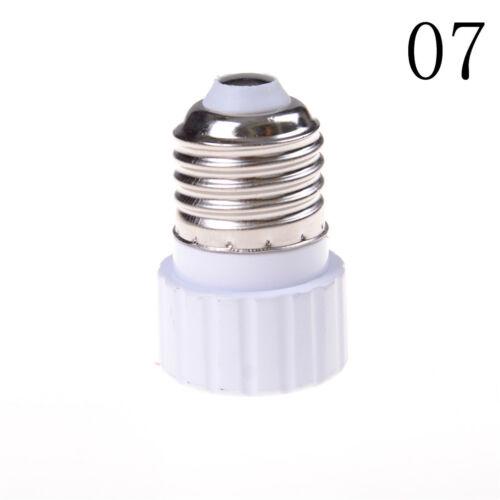 GU10//E27//E14//E40//B22 Bulb Adapter Lamp Extender Socket Converter Light Holder DD