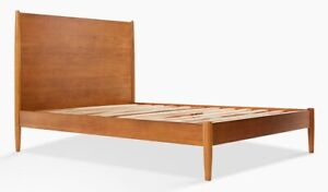 West-Elm-Mid-Century-Retro-Wooden-Bed-Frame-Double-A