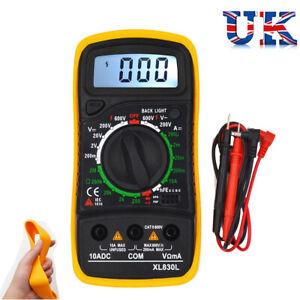 LCD-Digital-Multimeter-Voltmeter-Ammeter-AC-DC-OHM-Current-Circuit-Tester-Buzzer