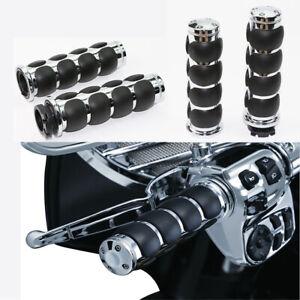 "1/"" 25mm Handle Bar Hand Grips For Honda Shadow 600 700 750 1100 VTX1300 1800 US"