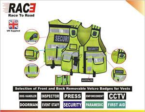 Tactical Vest Security Enforcement PRESS Tac Vest Dog Handler Event Staff
