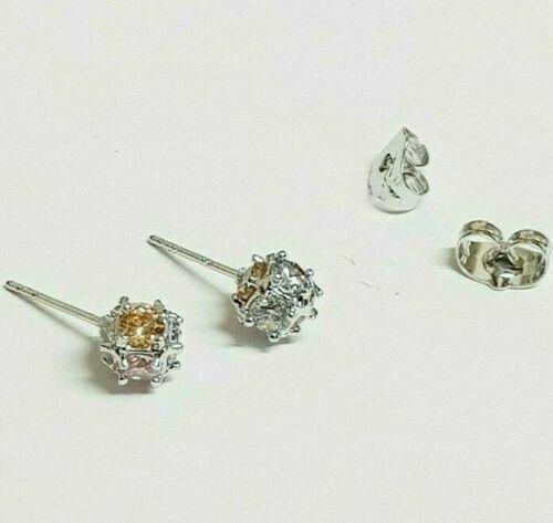 14 variaciones 7mm Relleno de oro Aretes Bola de piedras preciosas de imitación