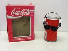 Retro Vintage Coca Cola Coke Dancing Can,  Boxed Old Toy Cool
