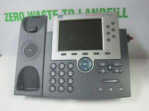 LOT OF 8 Cisco IP Phone 7965 DTD-7965-TSGB | eBay