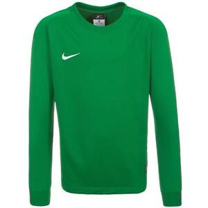 ff9cd044daa Details about NWT Youth Boys Nike Park II Soccer Goalie Goalkeeper Long  Sleeve Jersey - Green