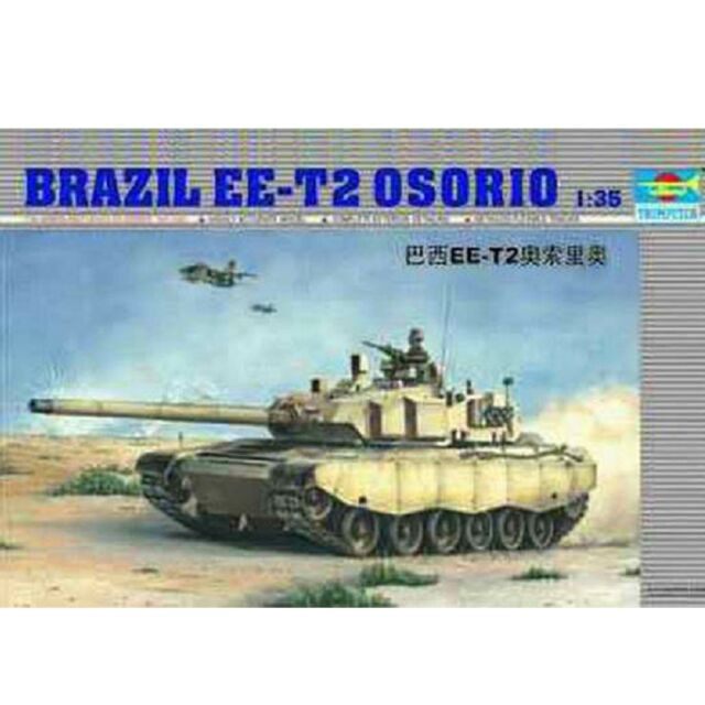 Trumpeter 1/35 00333 Brazil EE-T2 Osorio Model Kit
