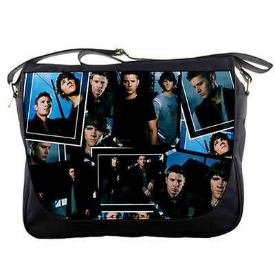 Supernatural Men Women Messenger Bag Sam & Dean Shoulder Laptop School Sling