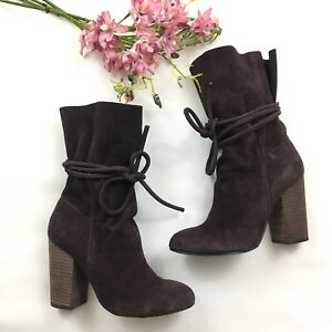 3f5c885d6b71 Image is loading Urban-Outfitters-ECOTE-Carla-Slouch-Chocolate-Brown-Suede-