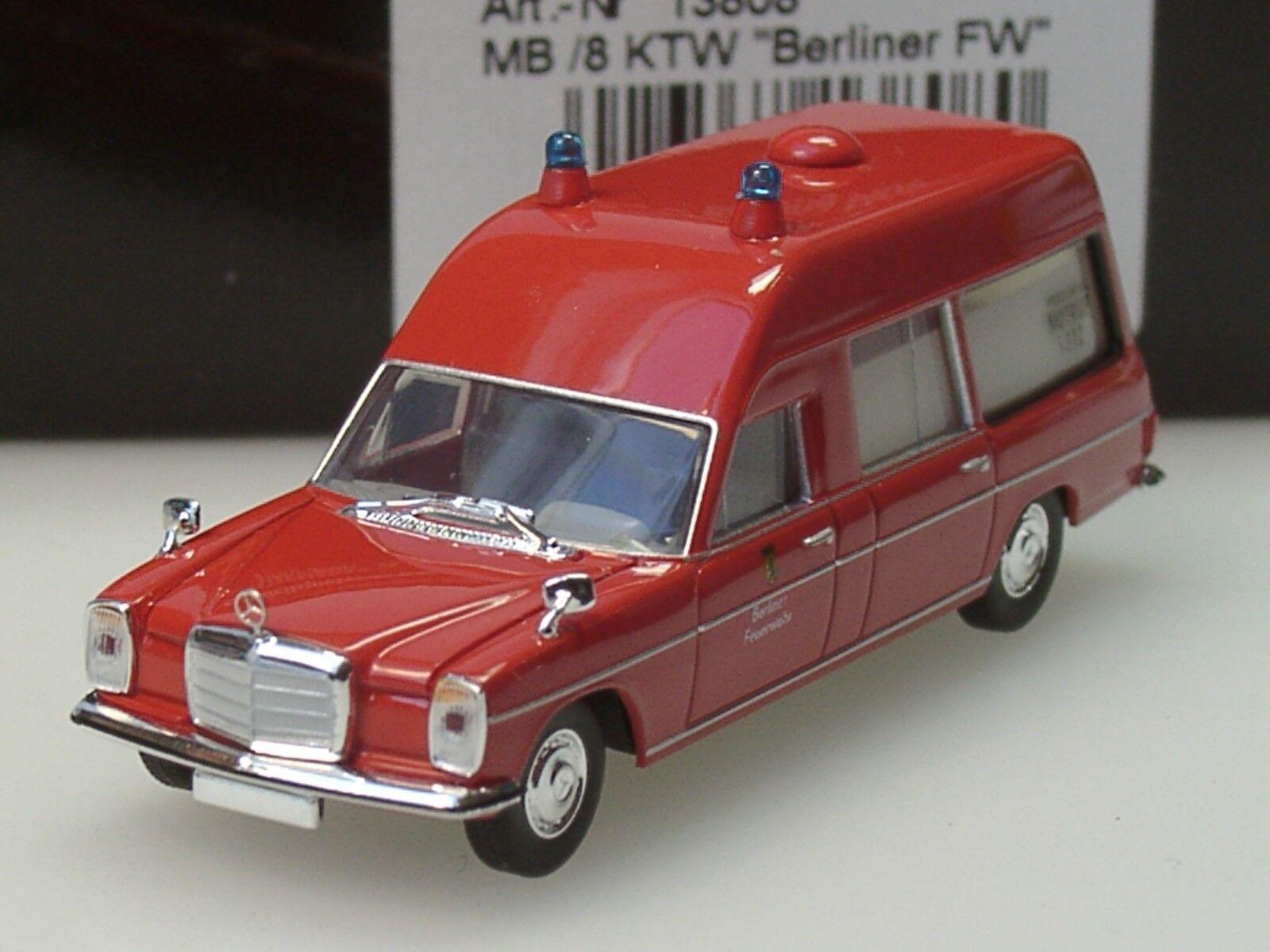 Starmada   brekina mercedes berliner   8 krankenwagen, berliner mercedes feuerwehr - 13808 - 1   87 35f523