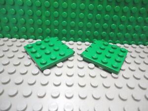 Lego 2 Blue 4x4 hinged hatch door