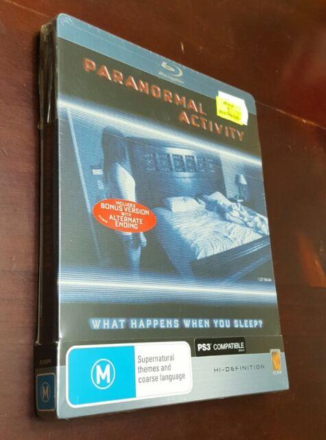 *New & Sealed* Paranormal Activity - STEELBOOK BLU RAY - Reg B AUS (Rare/OOP)
